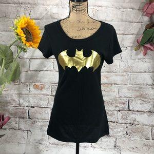 Batman Gold Wings Cap Sleeve Tee for Play